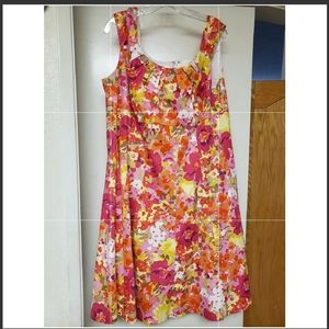 Dressbarn | Multicolored Floral Dress | Size 18